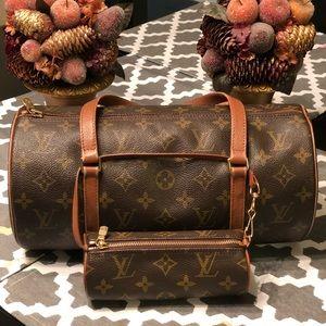 Louis Vuitton Papillon 30 Vintage with Mini pouch